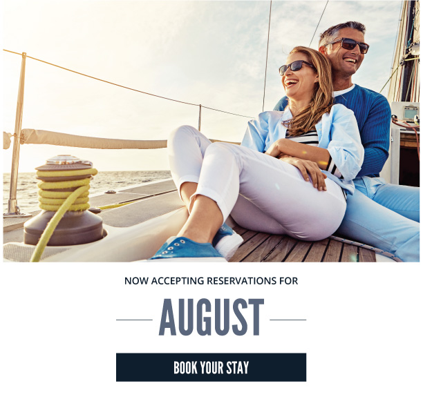 couple on boat deck august reservations open