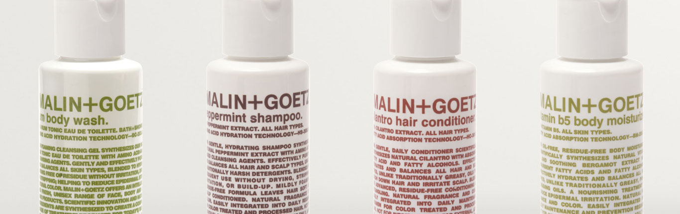 malin + goetz products